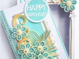 Happy Birthday Card with Quilling Paper Pin by Greeting Cards On Quilling Ideas with Images