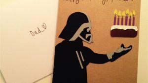 Happy Birthday Dad Diy Card today In Ali Does Crafts Darth Vader Birthday Card for