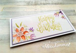 Happy Birthday Dies for Card Making Es ist Unglaublich Eine Wunderblume Die Ihrem Namen Alle
