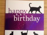 Happy Birthday From the Cat Card Memory Box Grand Happy Birthday Large Walking Cat Die and A