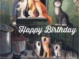 Happy Birthday From the Cat Card Pin by norma Beatriz Riquelme On Happy Birthday Cat Art