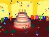 Happy Birthday Greeting Card Youtube Birthday songs Happy Birthday song Happy Birthday Ecard