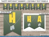 Happy Birthday Invitation Card Design New fortnite Birthday Party Printables Construction
