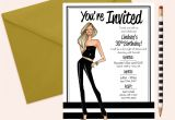 Happy Birthday Invitation Card Images Party Invitations Fashion Party Invite 21st Birthday