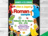Happy Birthday Invitation Card In English Sesame Street Party Invitations Template Sample Pdf Free