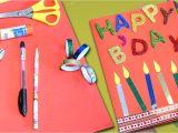 Happy Birthday Ka Card Banana Sikhaye Happy Birthday Greeting Card Diy Birthday Card Easy Craft