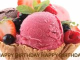 Happy Birthday Ka Card Banana Sikhaye Happy Birthday Ice Cream Helados Y Nieves Happy Birthday