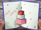 Happy Birthday Ka Card Banana Sikhaye How to Make Happy Birthday Card Happy Birtday Greeting Card