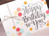 Happy Birthday Ka Card Kaise Banate Hain Happy Birthday to You Make A Card Monday 258