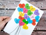Happy Birthday Ka Card Kaise Banate Hain Heart Card Happy Birthday Card Happy Birthday Greetings Card