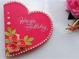 Happy Birthday Ka Card Kaise Banate Hain How to Make Special Birthday Card for Best Friend Diy Gift Idea