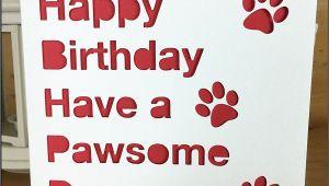 Happy Birthday Ke Liye Greeting Card Birthday Card Pet Happy Birthday From the Pet to the Pet