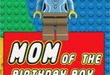 Happy Birthday Lego Card Printable Legos Mom Of the Birthday Boy Printable Digital Iron On