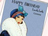 Happy Birthday Lovely Lady Card Feste Besondere Anlasse Karten Einladungen Quality