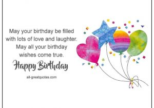 Happy Birthday Quotes to Write On Card 257 Happy Birthday Messages