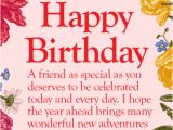 Happy Birthday Quotes to Write On Card 50 Best Happy Birthday Greetings to A Friend Quotes Yard