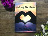 Happy Birthday Step Daughter Greeting Card Details About Watch the Sunrise Happy Anniversary Handmade