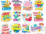 Happy Birthday Stickers for Card Making Eureka Birthday Stickers theme 655062