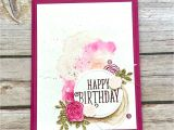 Happy Birthday Stickers for Card Making Stampin Up Artisan Design Team Blog Hop Happy Birthday