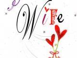 Happy Birthday to Wife Card Gorgeous Wife Happy Birthday Card Cards