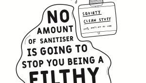 Happy Birthday Ya Filthy Animal Card Sanitiser Filthy Bitch