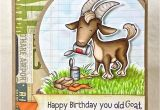 Happy Birthday You Old Goat Card 58 Best Spd Cards Images Cards Paper Crafts Clear Stamps