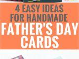 Happy Fathers Day Card Handmade 4 Easy Handmade Father S Day Card Ideas Fathers Day Cards