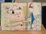 Happy Fathers Day Card Handmade Father S Day Card Grandad Fishing Handmade Gifts Happy