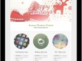 Happy Holidays Email Template Christmas Email Templates for the Upcoming Holiday Mailing