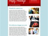 Happy Holidays Email Template Happy Holidays Email Template Snoack Studios