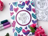 Happy Mothers Day Diy Card 22 Homemade Mother S Day Cards Every Kid Can Make