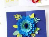 Happy Mothers Day Diy Card Diy Happy Mother S Day Card with Pop Up Flower A Piece