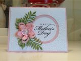 Happy Mothers Day Diy Card Happy Mothers Day Card Using Stampin Up Botanical Blooms