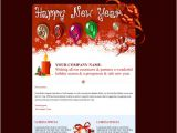 Happy New Year Business Email Template 17 Beautifully Designed Christmas Email Templates for