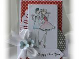 Happy New Year Creative Card Handmade by Mihaela Happy New Year Card