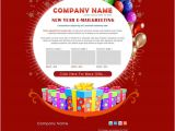 Happy New Year Email Template Free Download 14 New Year Email Templates Free Psd PHP HTML Css