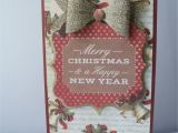 Happy New Year Greeting Card Handmade Craftwork Cards Magic Of Christmas Craftwork Cards