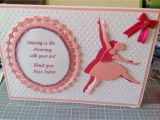 Happy Teachers Day Card Handmade Thank You Dance Teachers Card with Images Greeting Cards