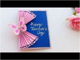 Happy Teachers Day Card Kaise Banaya Jata Hai Diy Teacher S Day Card Handmade Teachers Day Card Making