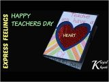 Happy Teachers Day Card Kaise Banaya Jata Hai How to Make A Teachers Day Card Diy Thank You Card for Teachers Diy Teacher S Day Card Making Idea