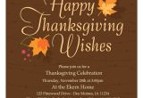 Happy Thanksgiving Email Templates Autumn Leaves Thanksgiving Invitations Cards On Pingg Com