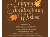 Happy Thanksgiving Email Templates Free Autumn Leaves Thanksgiving Invitations Cards On Pingg Com