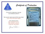 Hard Drive Certificate Of Destruction Template Free Hard Drive Wiping Services Hdd Destruction