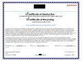Hard Drive Certificate Of Destruction Template Hard Drive Destruction for Copier Mfp Printers