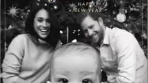 Harry and Meghan Christmas Card Duke and Duchess Of Sussex Release 2019 Christmas Card In