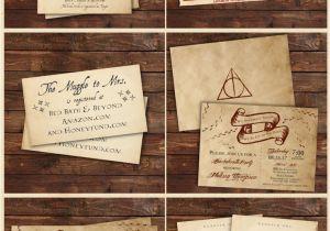 Harry Potter Happy Birthday Card Printable Harry Potter Inspired Invitations Harry Potter Party Harry