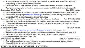 Harvard Law Sample Resume Sample Resume Harvard Law Sample Resume