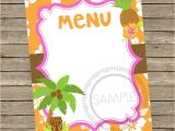 Hawaiian Menu Template 29 Blank Menu Templates Editable Psd Ai format