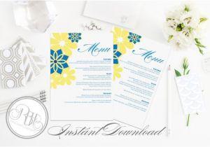 Hawaiian Menu Template Items Similar to Hawaiian Menu Wedding Template Instant