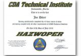 Hazmat Training Certificate Template Available Certifications Admissions Cda Technical